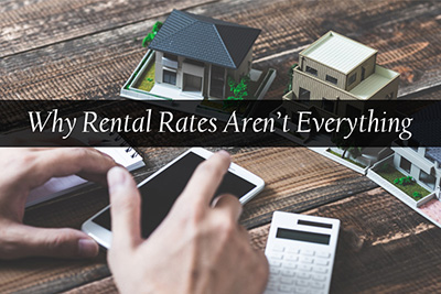 Why Rental Rates Aren